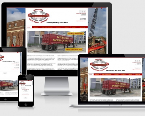 National Wrecking Responsive Website